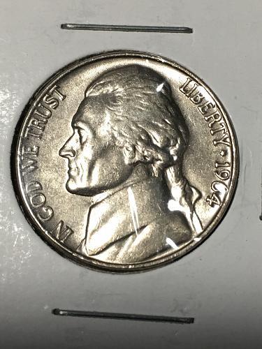 1964 Jefferson Nickel Item 0219036