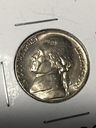 1960 D Jefferson Nickel Item 0219038