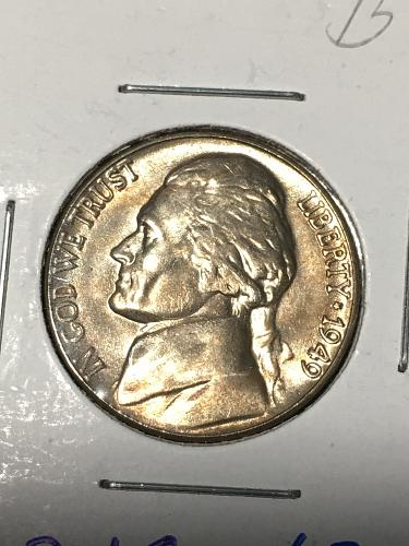1949 Jefferson Nickel Item 0219042