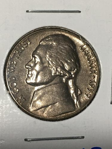 1939 Jefferson Nickel Item 0219043