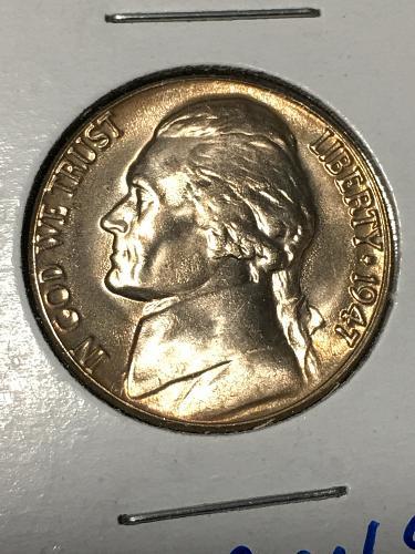 1947 D Jefferson Nickel Item 0219048