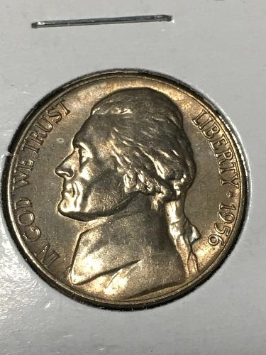 1956 Jefferson Nickel Item 0219052