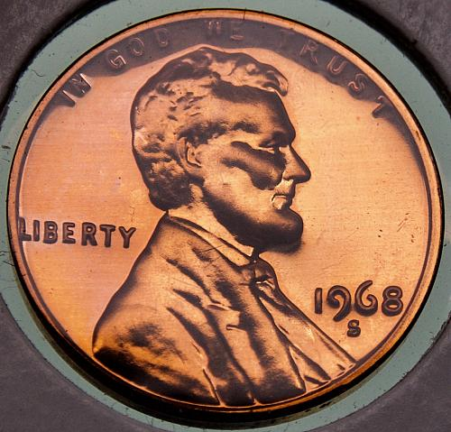 1968S Lincoln Memorial Cent #1 PROOF