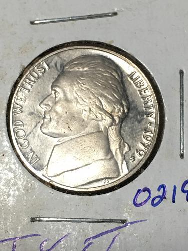 1979 S Jefferson Nickel Item 0219078