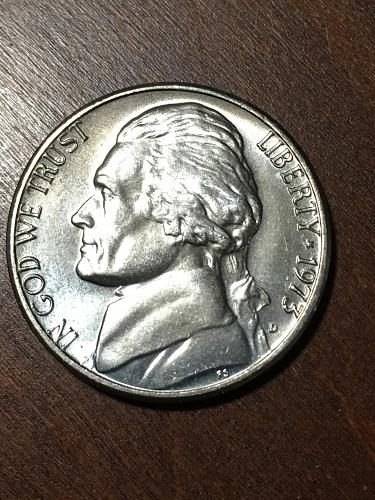 1973 D Jefferson Nickel Item 0219112