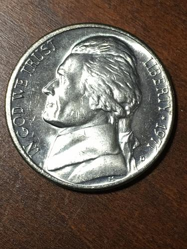 1971 D Jefferson Nickel Item 0219113