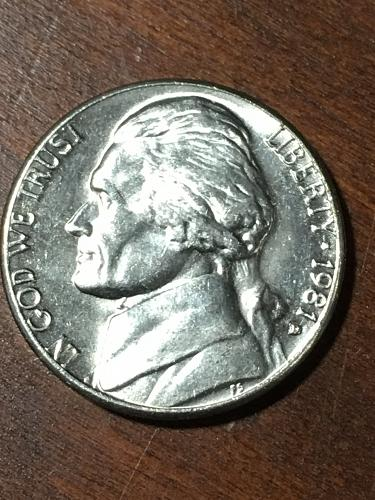 1981 D Jefferson Nickel Item 0219130