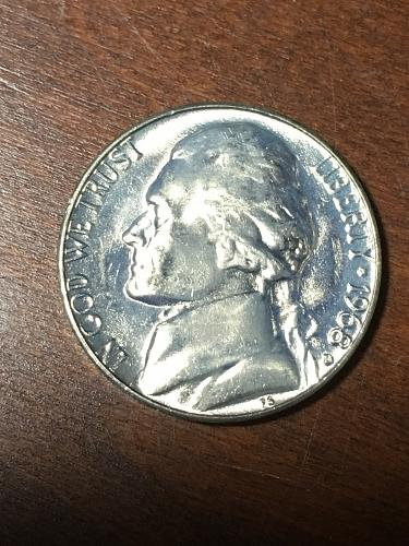 1968 D Jefferson Nickel Item 0219133