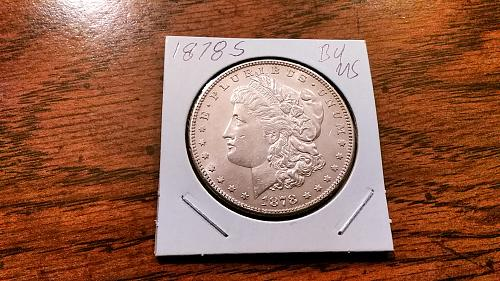 1878 S Morgan Silver Dollar BU/MS Great Detail and Eye Appeal