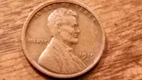 1919 D Lincoln Wheat Cent with some very nice detail