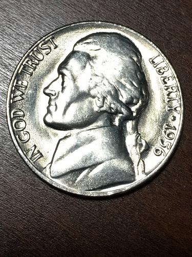 1956 Jefferson Nickel Item 0219147