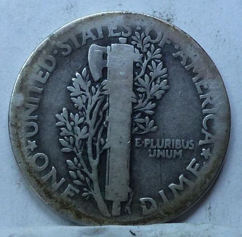 1916-P Very Good Mercury Dime   ( 4243)