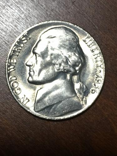1956 Jefferson Nickel Item 0219153