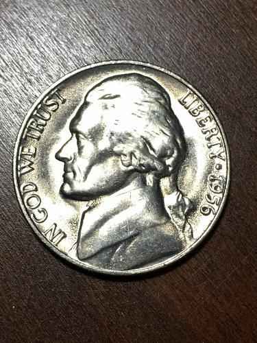 1956 Jefferson Nickel Item 0219156