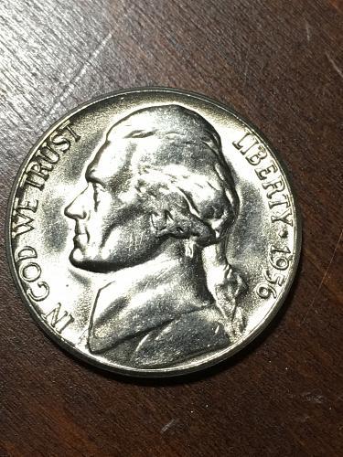 1956 D Jefferson Nickel Item 0219159