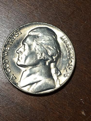 1956 Jefferson Nickel Item 0219165