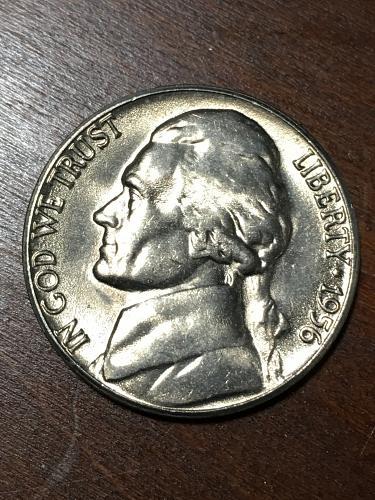 1956 D Jefferson Nickel Item 0219172
