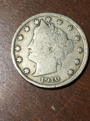 1910 Liberty Nickel Item 0219224