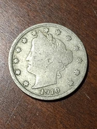 1910 Liberty Nickel Item 0219225