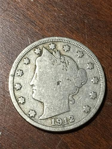 1912 Liberty Nickel Item 0219231