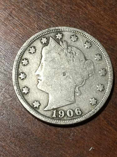 1906 Liberty Nickel Item 0219237