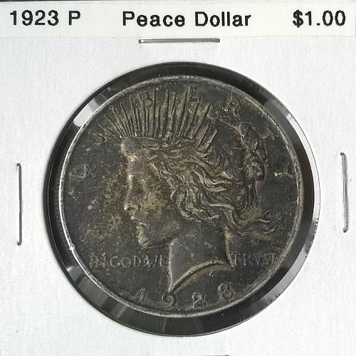 1923 P Peace Dollar - 6 Photos!