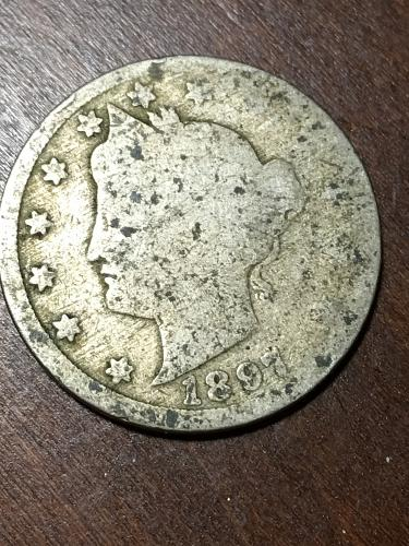 1897 Liberty Nickel Item 0219248