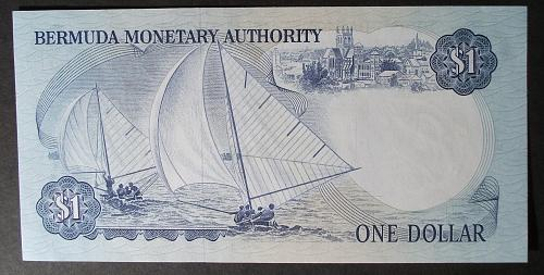 Bermuda P28b Dollar UNC60
