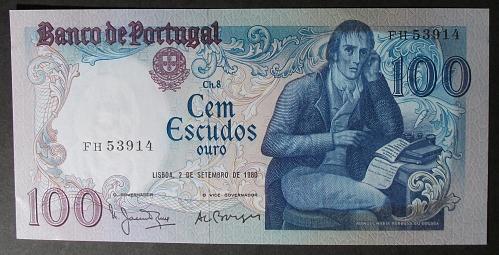 Portugal P178a 100 Escudos UNC60