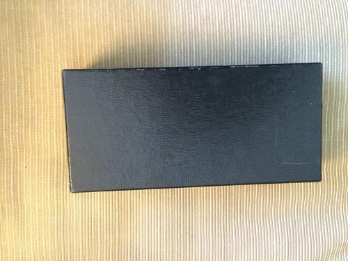 2 X 4 X 10 BLACK STORAGE BOX, COIN HOLDER.