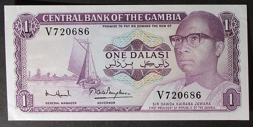 Gambia P4f Dalasi AU