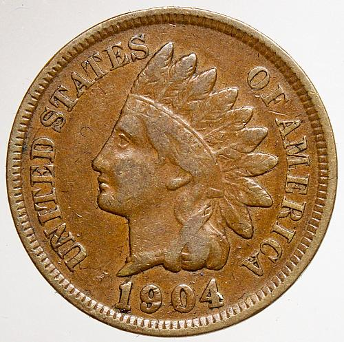 1904 Indian Head Cent #22