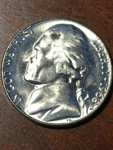 1968 D Jefferson Nickel Item 0219280