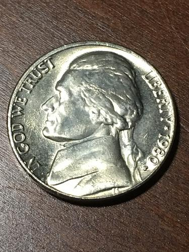 1980 Jefferson Nickel Item 0219283