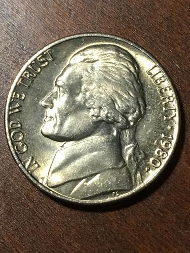 1980 Jefferson Nickel Item 0219287
