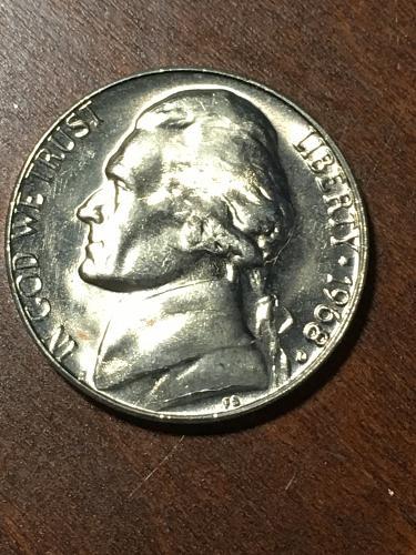 1968 D Jefferson Nickel Item 0219288