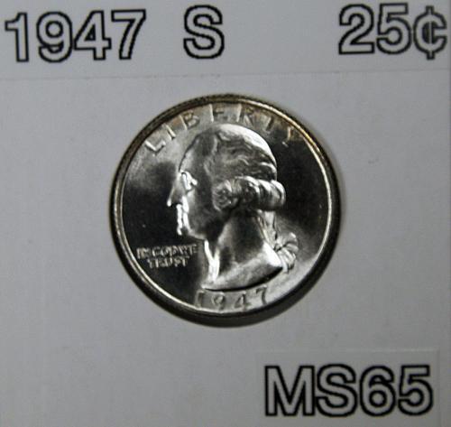1947 S Washington Quarter