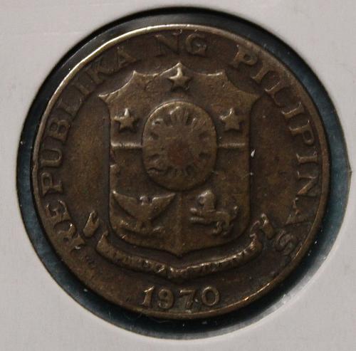 Philippines 1970 5 sentimos