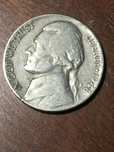 1948 Jefferson Nickel Item 0219325