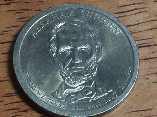 2010 P Abraham Lincoln Dollar