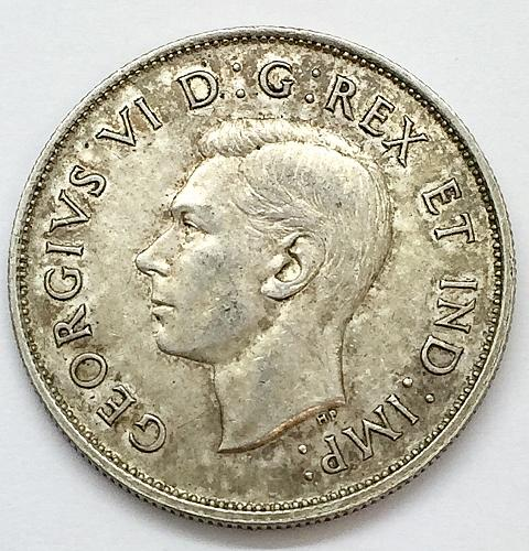 1938 Canada 50 Cents