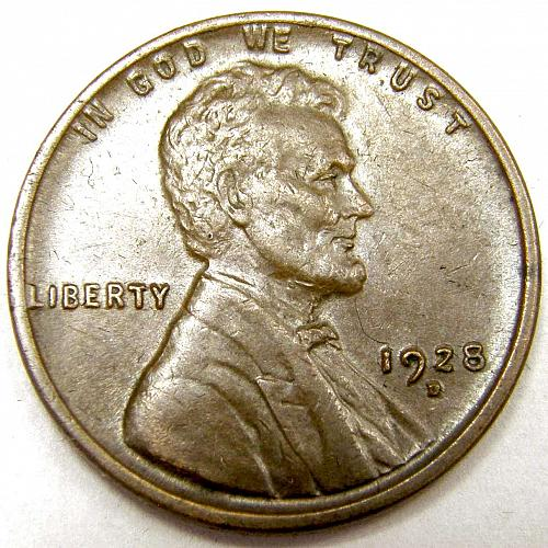 1928 D Lincoln Wheat Cent #2