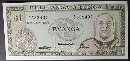 Tonga P19c Pa'anga UNC64