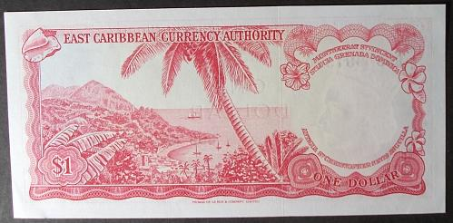 East Caribbean States P13g Dollar AU55