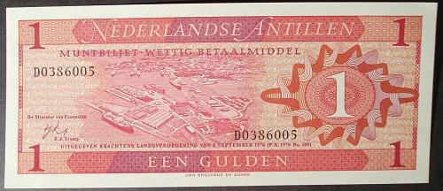 Netherlands Antilles P20a UNC62