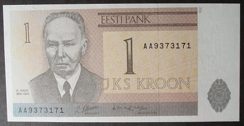 Estonia P69a Kroon UNC62 #1
