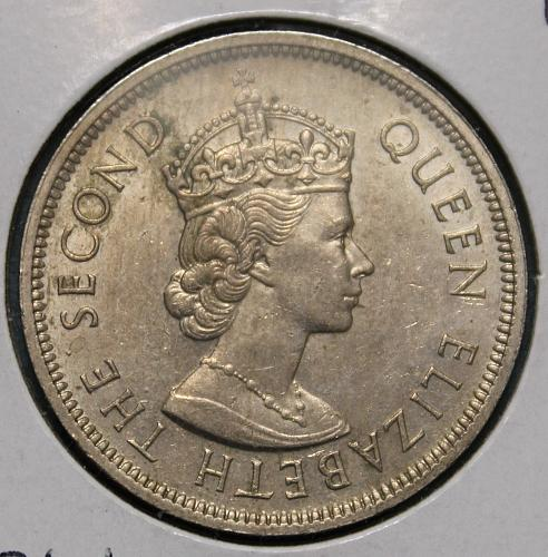 Hong Kong 1960KN 1 Dollar