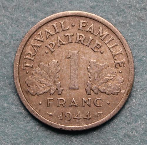 France 1944C 1 Franc