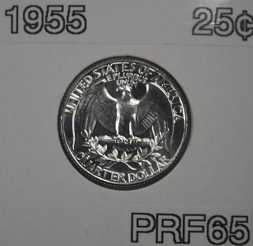 1955 Washington Quarter *** Proof ***