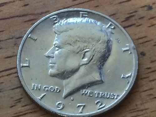 1972 D Kennedy Half Dollar #3